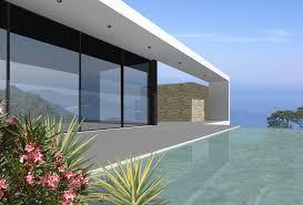 villa contemporaine bord de mer architecture et maître d œuvre à
