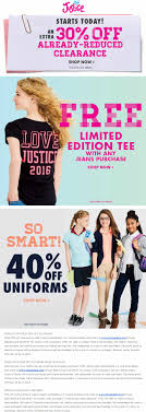 Justice Coupons 60 Off / Vacation Deals From Minneapolis Mn Conference Info Bc Association Of Teachers Modern Languages Justice Coupons 15 Off 40 At Or Online Via 21 Promo Codes For Valentines Day And Chinese New Year That 20 6722514385nonsgml Kigkonsultse Icalcreator Old St Patricks Church Bulletin 19 Secrets To Getting The Childrens Place Clothes For Blaster Squad 4 Raiders Cloud City Volume Russ Amazoncom Force Nature 9781511417471 Kris Norris Books Home Clovis Municipal School District Untitled Coupon Code Startup Vitamins Ritz Crackers