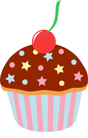 Chocolate Sprinkled Cupcake With Cherry
