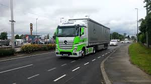 100 Duel Truck Driver Fuel Actros In Irelands Best Award YouTube