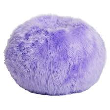 Lilac Fur Rific Beanbag