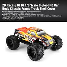 100 Used Rc Cars And Trucks For Sale ZD Racing 9116 18 Scale Bigfoot RC Car Body Chassis Frame Truck