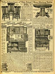 Sears Canada Kitchen Curtains by Household Furniture 1914 Sears Household Catalog Dining Room