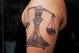 Awesome Libra Tattoo Ideas For Men