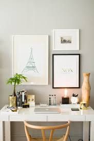 how to style the west elm parsons desk space photography office