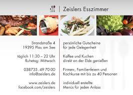 zeislers esszimmer 25 photos german strandstr 4 plau