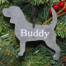 MasonJarscom Dog Slate Christmas Ornament