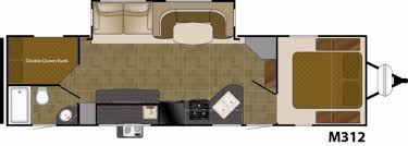 2000 Prowler Travel Trailer Floor Plans by New Or Used Travel Trailer Campers For Sale Rvs Near Salt Lake City