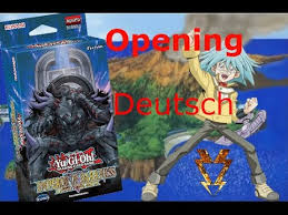 yu gi oh emperor of darkness structure deck unboxing german