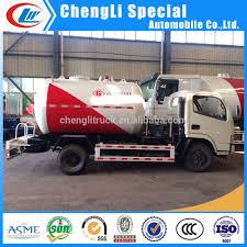 100 Propane Truck 38cbm Lpg Tank Small Gas Transport Road Tanker