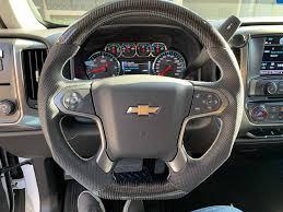 100 Chevy Truck Accessories 2014 20152018 Silverado Carbon Fiber Steering Wheel GMC