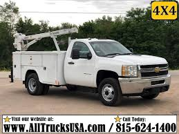 100 Duramax Diesel Trucks For Sale 2012 Chevrolet Silverado 3500 Mechanic Service Truck