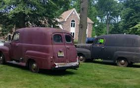 100 Panel Trucks 1951 Ford Three Of Them Used Ford Other Pickups For