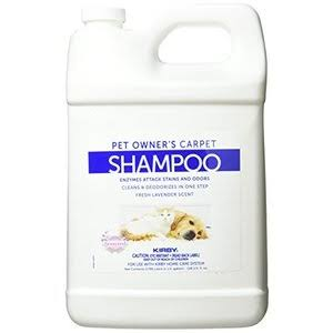 Kirby Genuine Pet Owners Foaming Carpet Shampoo - Lavender Scented, 1 Gallon