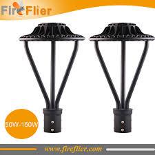 4pcs 50w 75w led area light 100w post top ls 150w parking lot