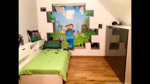 Minecraft Room Decor Ideas by Bedroom Interesting Bedroom With Unique Style Minecraft Room