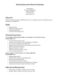 Resume Skills Exa Cover Letter Example On A Examples