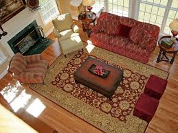 Red Area Rugs That Are Square