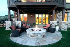 Menards Patio Chair Cushions by Outdoor Curved Fire Pit Bench Full Image For Clearance Patio