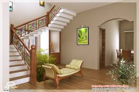 Kerala Home Design And Floor Plans Like The Stained Glass Look On Stairs