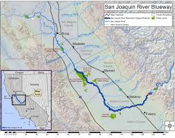 The San Joaquin River Is Californias Second Longest Stretching 330 Miles From Its Headwaters In Sierra And Meandering Through Central