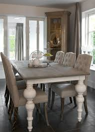 Rustic Dining Room Decorating Ideas by Rustic Chic Dining Table 8933