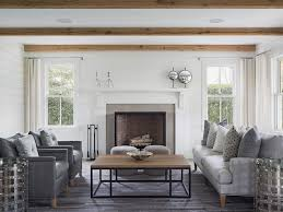 gray leather chairs with nailhead trim transitional living