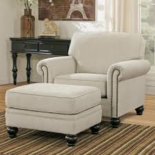 100 Accent Chairs With Arms And Ottoman Signature Design By Ashley Milari Linen Transitional Chair With
