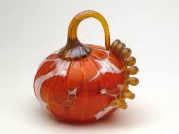 Glass Blown Pumpkins by Glass Blowing Classes Half Moon Bay Art Glass Half Moon Bay Ca