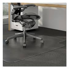 Es Robbins Chair Mat High Pile by Cleated Chair Mat For Low And Medium Pile Carpet By Alera