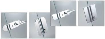 amz design serrure pour porte en verre poignées systèmes d