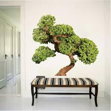 bonsai tree wall decal mural asian tree wall graphic decal
