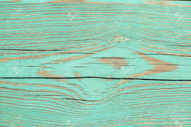 Blue Colored Vintage Wood Texture Stock Photo