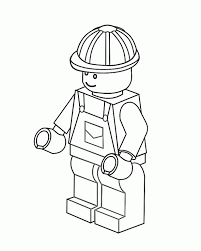 Marvellous Design Lego Character Coloring Pages Free