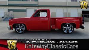 1982 Chevrolet C10 Gateway Classic Cars Of Houston Stock 411 HOU ... 1982 Chevy Silverado K10 62 Detoit 100 Years Of Exploring New Possibilities With Chevrolet Trucks S10 Wikipedia Designs Of Truck For Sale Used C10 4x4 At Webe Autos Serving Long Island Ny C10 Short Bed Truck Pickup Ck 10 Overview Cargurus 1986 34 Ton New Interior Paint Solid Texas Questions Whats My Worth Are These Tailights Special Vintage Pickup Searcy Ar
