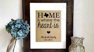 Sign Paper Cut D Hanging Gift Engraved On Maple Wood Home Is Where The Heart