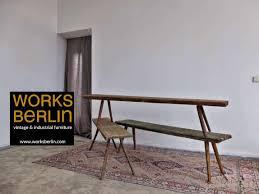 industrial sitzbank esszimmer alt vintage