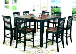 Kitchen Table With Stools High And Top Chairs