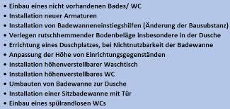 pflegekassenzuschuss badsanierung schnellesbad deutschland