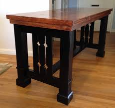 ana white mission style dining table diy projects