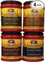 Com Folgers Flavors Ground Coffee Sampler Pack 11 5oz Canister Of 4 Diffe 1