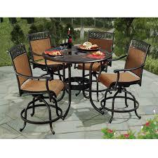 sunjoy seabrook 5 piece patio high dining set l dn899sal a the