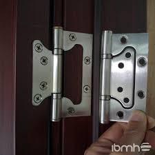 Non Mortise Cabinet Door Hinges by Flat Door Hinges U0026 Inserting A Door Hinge Pin