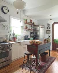 Country Kitchen Boho Open