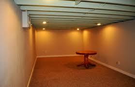 Diy Unfinished Basement Ceiling Ideas by Popular Basement Apartment Floor Plans Construction Basement