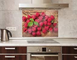 spritzschutz glas fruchtige waldbeeren quadrat 1 1