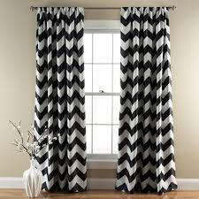 Grey And White Chevron Curtains 96 by Mesmerizing Black Chevron Curtains 65 Black And White Chevron