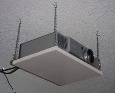 Projector Mount Drop Ceiling Walmart by Diy A Quick And Dirty 20 Projector Ceiling Projector Mount