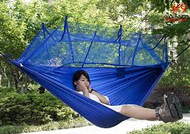 Single Person Parachute Fabric Mosquito Net Hammock $23 41 line