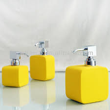 Yellow And Gray Bathroom Accessories by Best 25 Yellow Bathrooms Ideas On Pinterest Diy Yellow